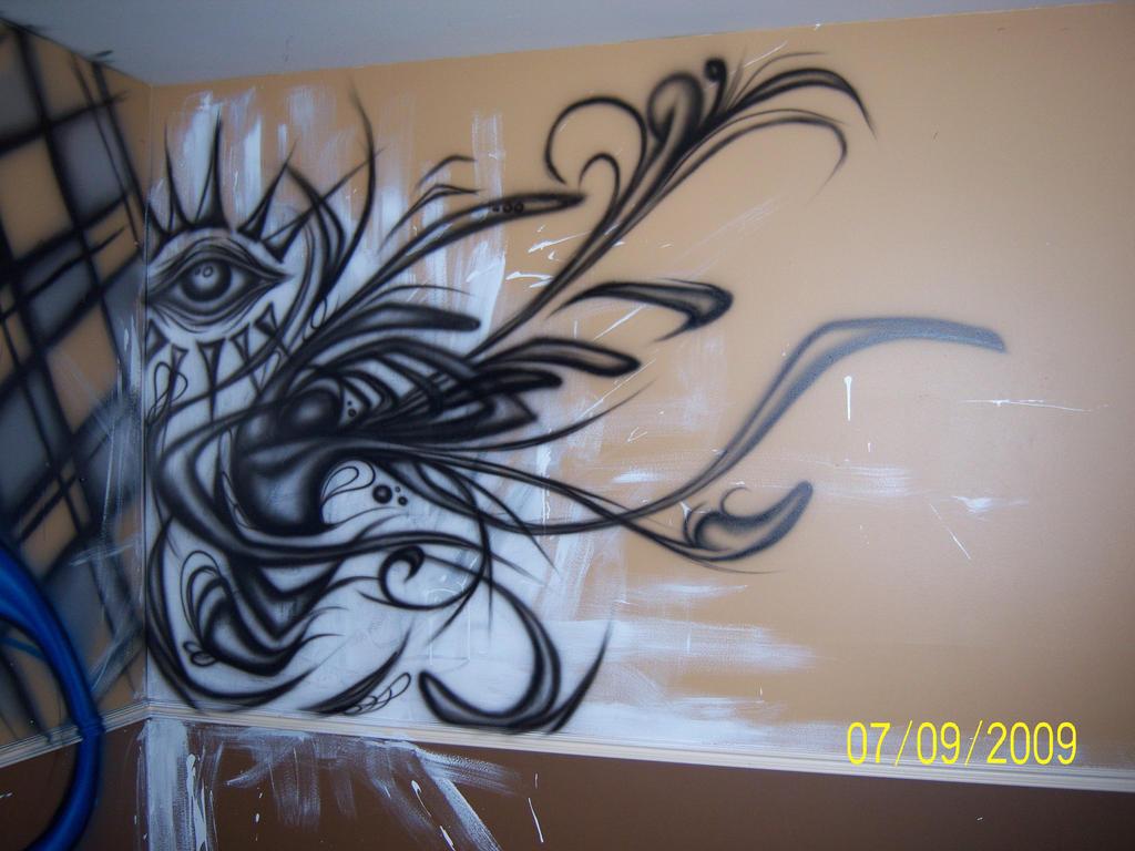 Graffiti rooms tumblr viewing gallery - Bedroom wall graffiti ideas ...