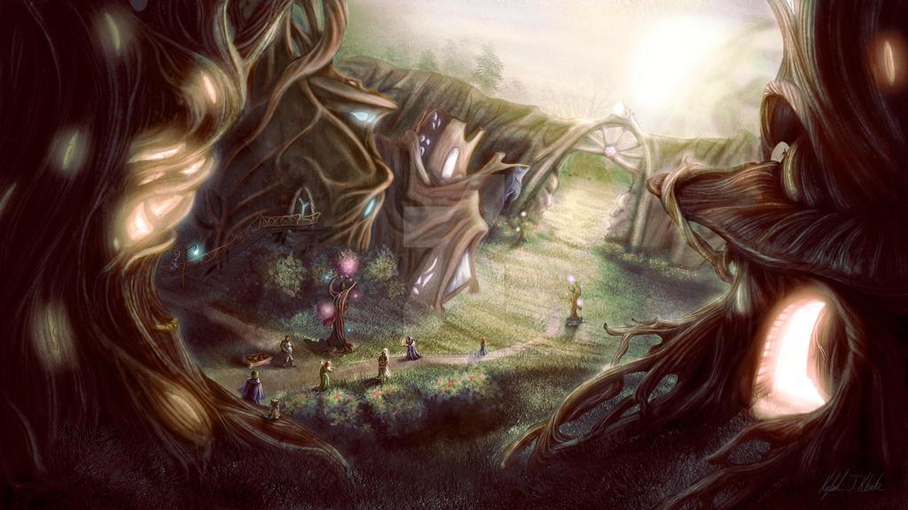 Fractal Rift Environment by KysSillyDesignStudio