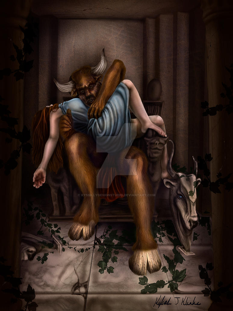 Classic Minotaur by KysSillyDesignStudio