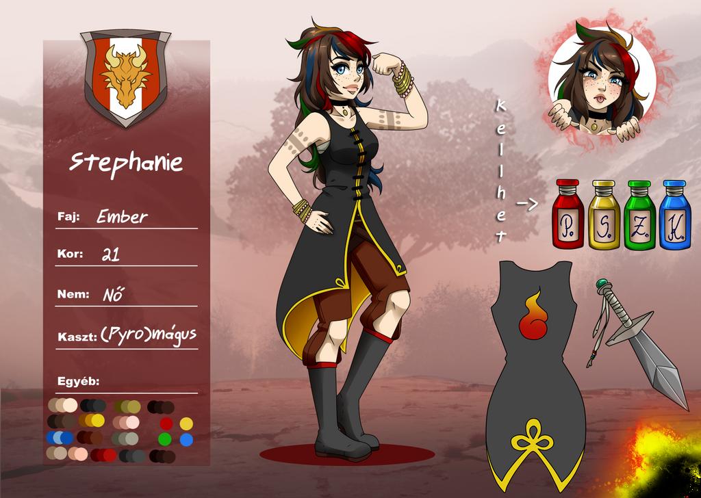 Stephanie's new layout by xxxStephaniexxx666