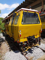 Rail maintenance vehicle CPTM by SD40-2