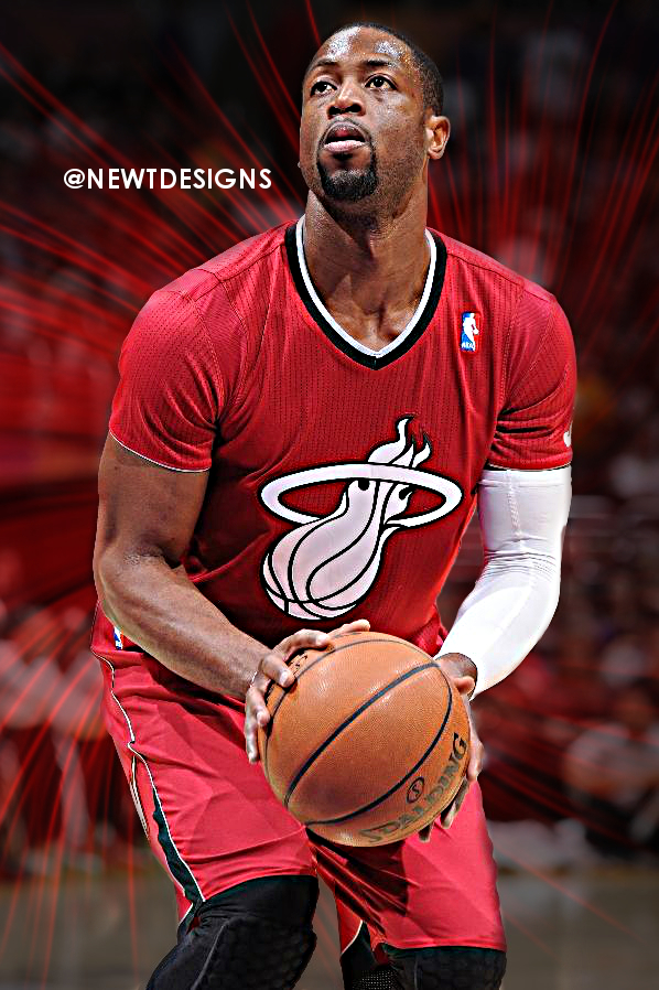 Dwyane Wade edit by NewtDesigns
