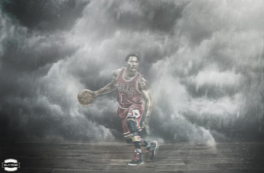Derrick Rose Wallpaper By NewtDesigns
