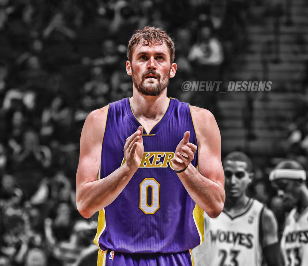 Kevin Love Jersey Swap - Los Angeles Lakers by NewtDesigns ...