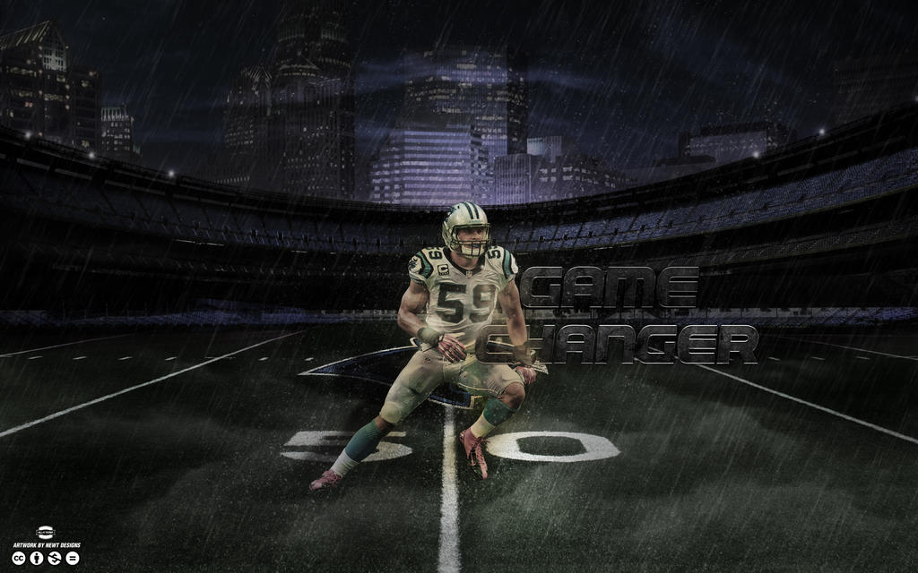 Luke Kuechly Game Changer Wallpaper By NewtDesigns