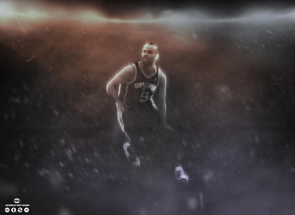 Tony parker wallpaper by newtdesigns on deviantart tony parker wallpaper by newtdesigns voltagebd Choice Image