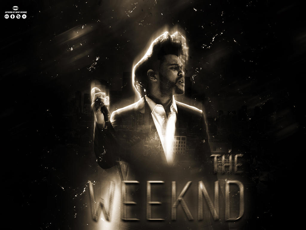 The Weeknd Wallpaper by NewtDesigns ...