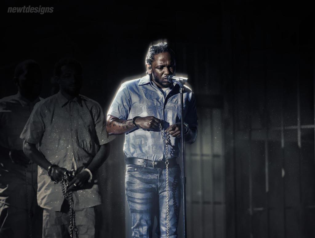 Kendrick Lamar 2016 Grammy Performance By NewtDesigns