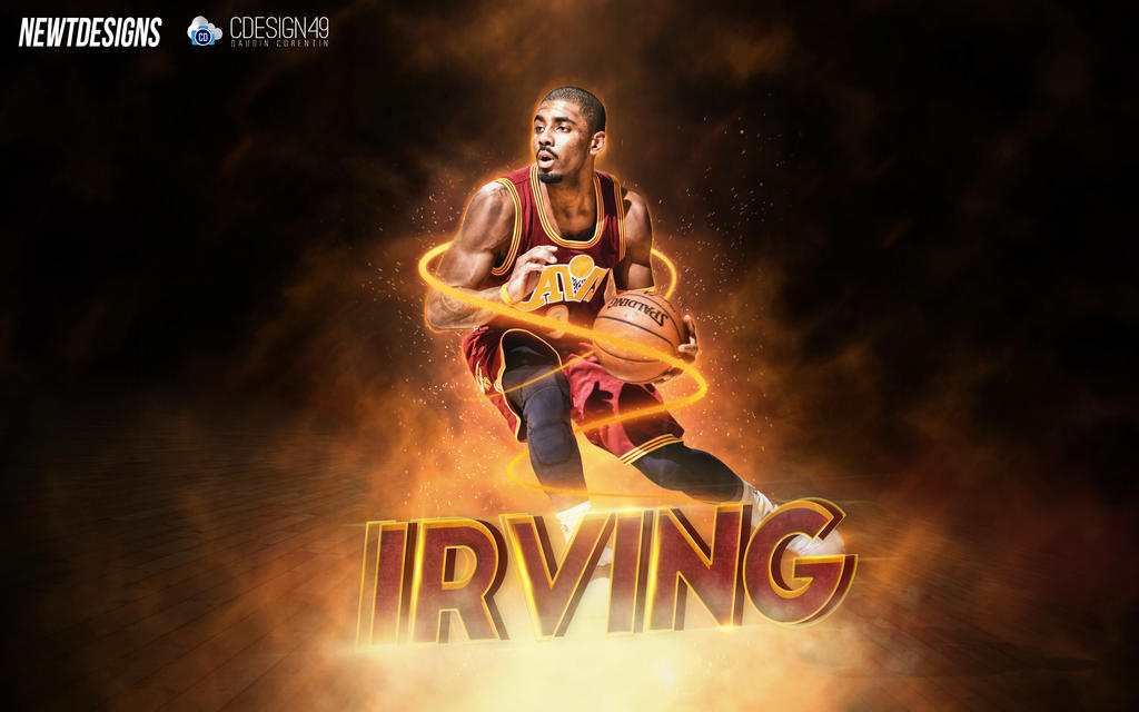 how to draw kyrie irving easy