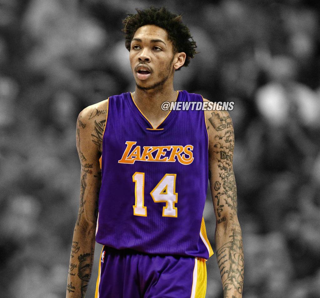 on sale ac58a b5552 Brandon Ingram Jersey Swap - Los Angeles Lakers by ...