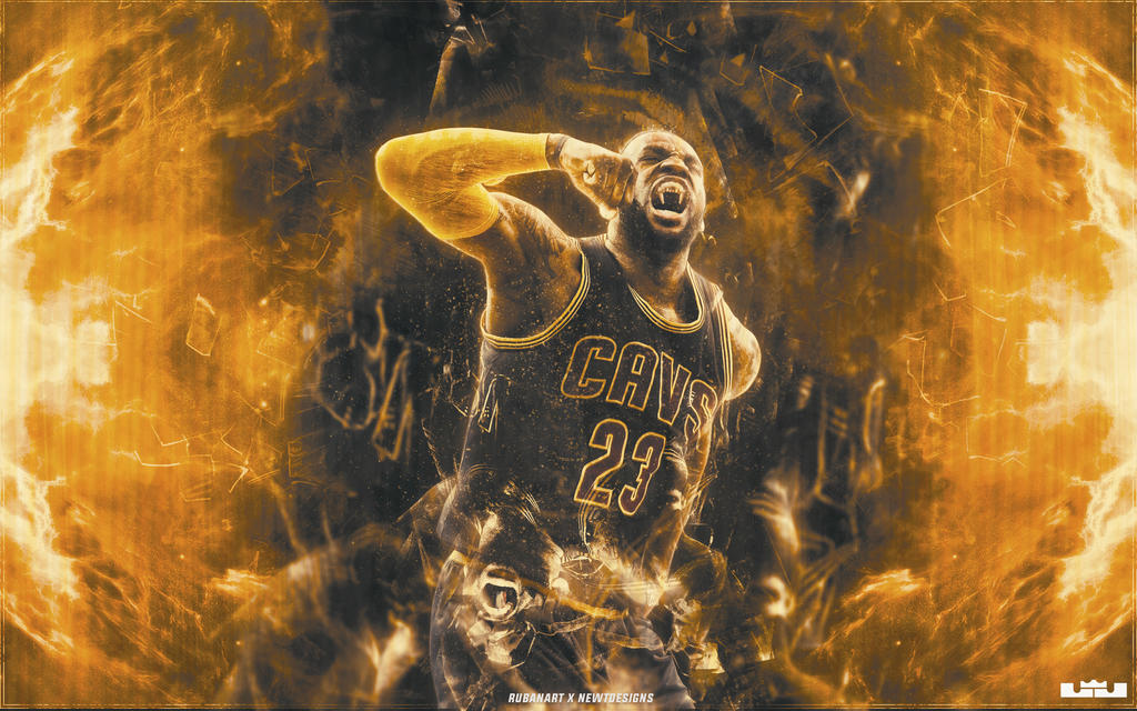 LeBron James Wallpaper by NewtDesigns