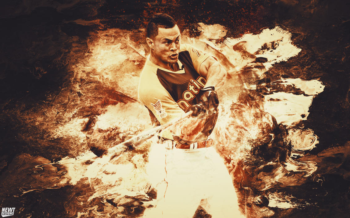 Giancarlo Stanton Home Run Derby Wallpaper by NewtDesigns ...