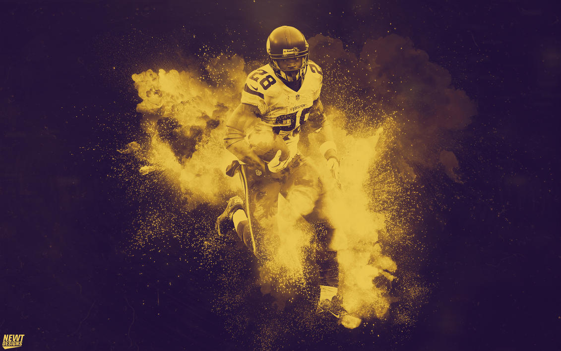 Adrian Peterson Wallpaper By NewtDesigns