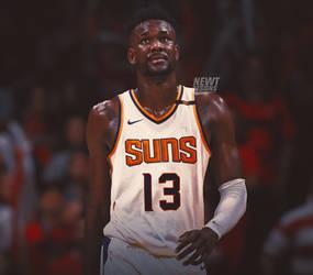b12b9fa2a19 DeAndre Ayton Jersey Swap - Phoenix Suns by NewtDesigns