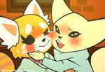Retsuko and Fenneko