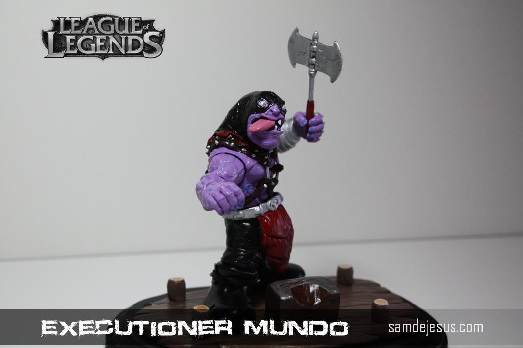 executioner mundo by samdejesus on DeviantArt  Executioner
