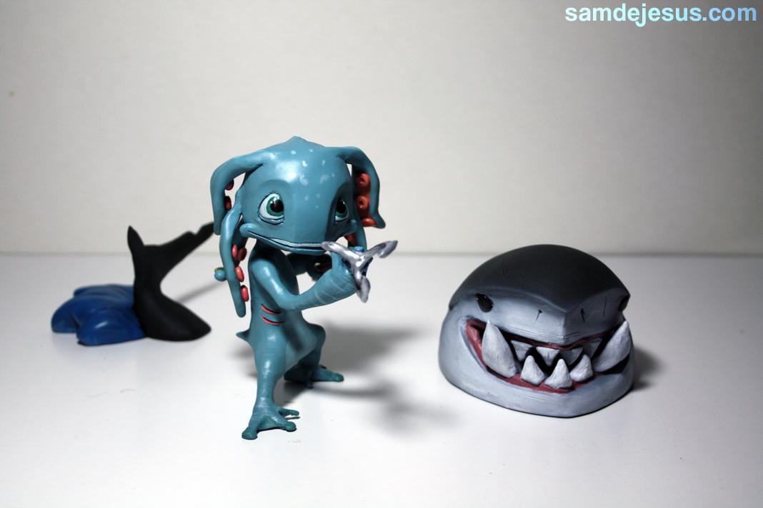 fizz, the tidal trickster by samdejesus