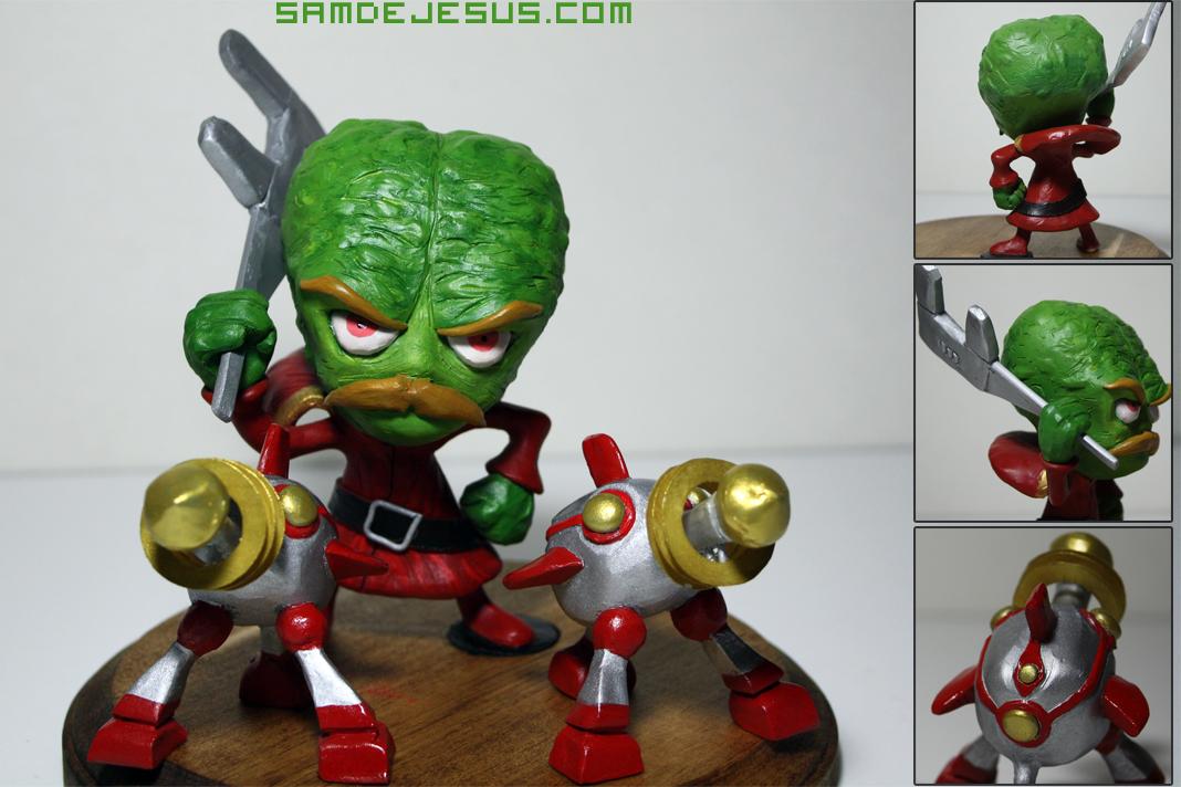 alien heimerdinger by samdejesus