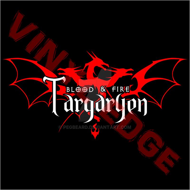 Game Of Thrones House Targaryen Logo Design By Pegbeard On Deviantart