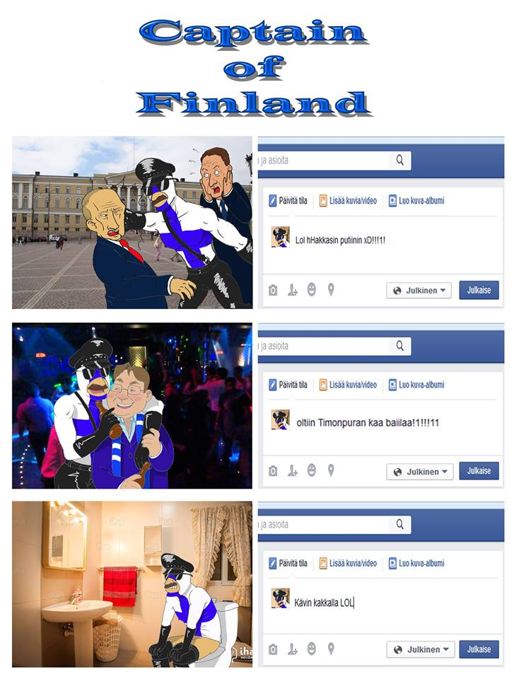 Captain of Finland by Uncle-Ernest