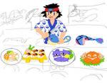 Pokemon sushi WIP