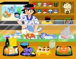 Pokemon Sushi Bar