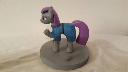Maud Pie Side View