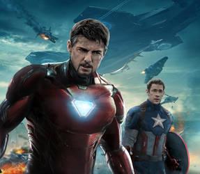 IronMan Tom Cruise/ Captain America John Krasinski