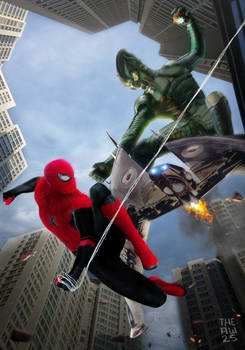 SPIDERMAN VS GREEN GOBLIN Poster