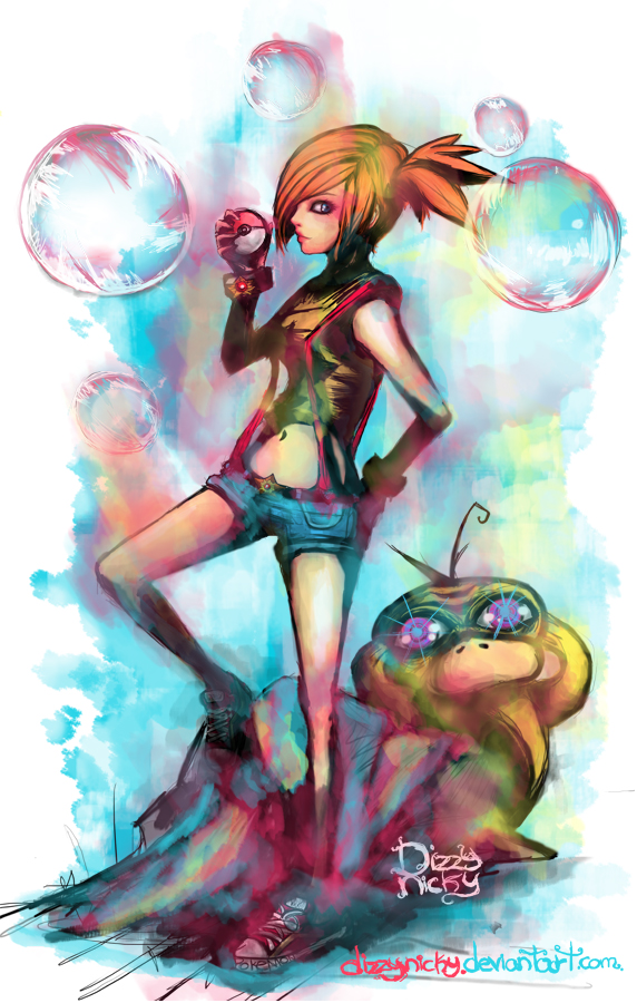 Misty by DizzyNicky