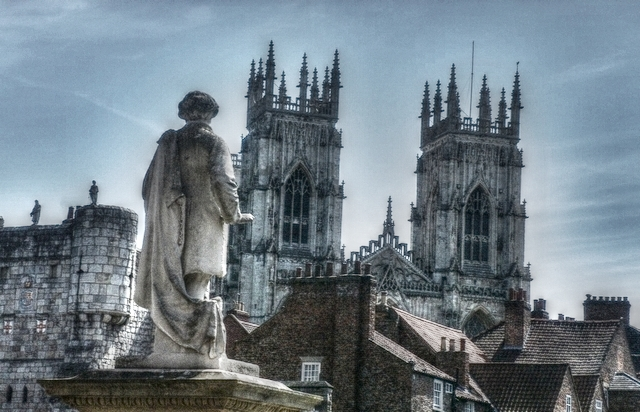 York in HDR . by velar1
