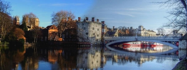 York in flood HDR . by velar1