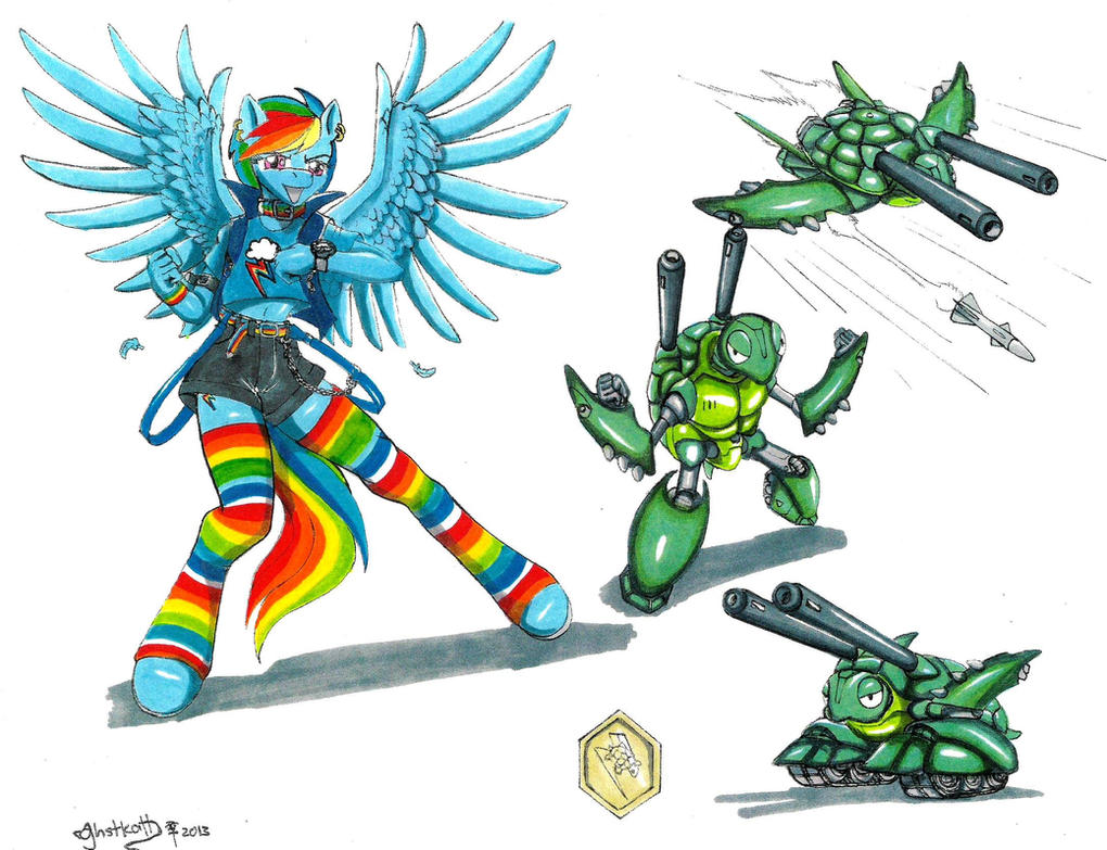 Image Gallery mlp crossover
