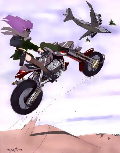 Riding high by ghstkatt