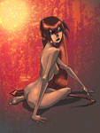 Sam Liu's Sittin pretty by Kane79
