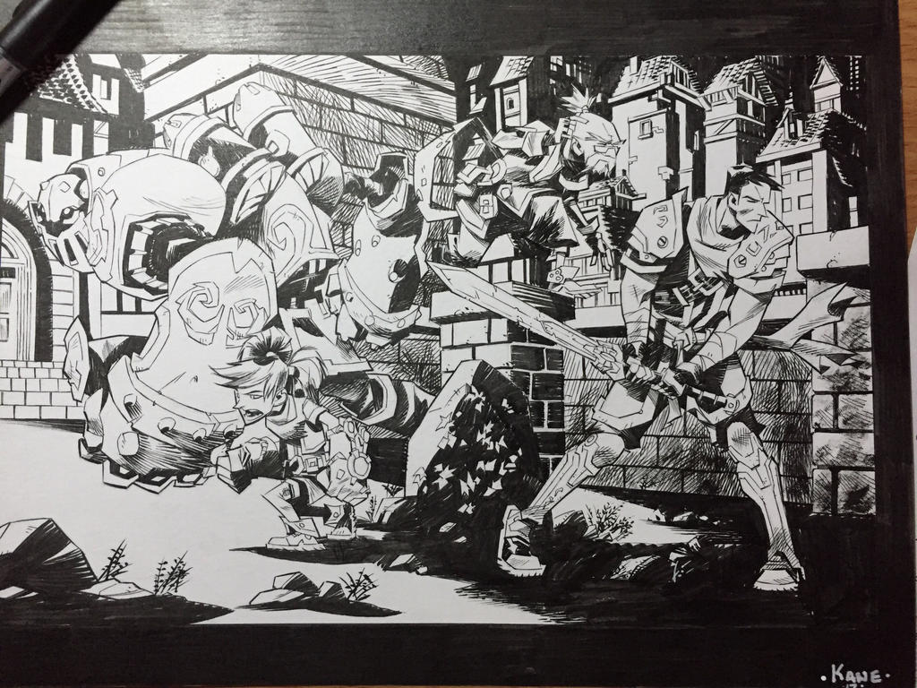 Battle chasers by Kane79
