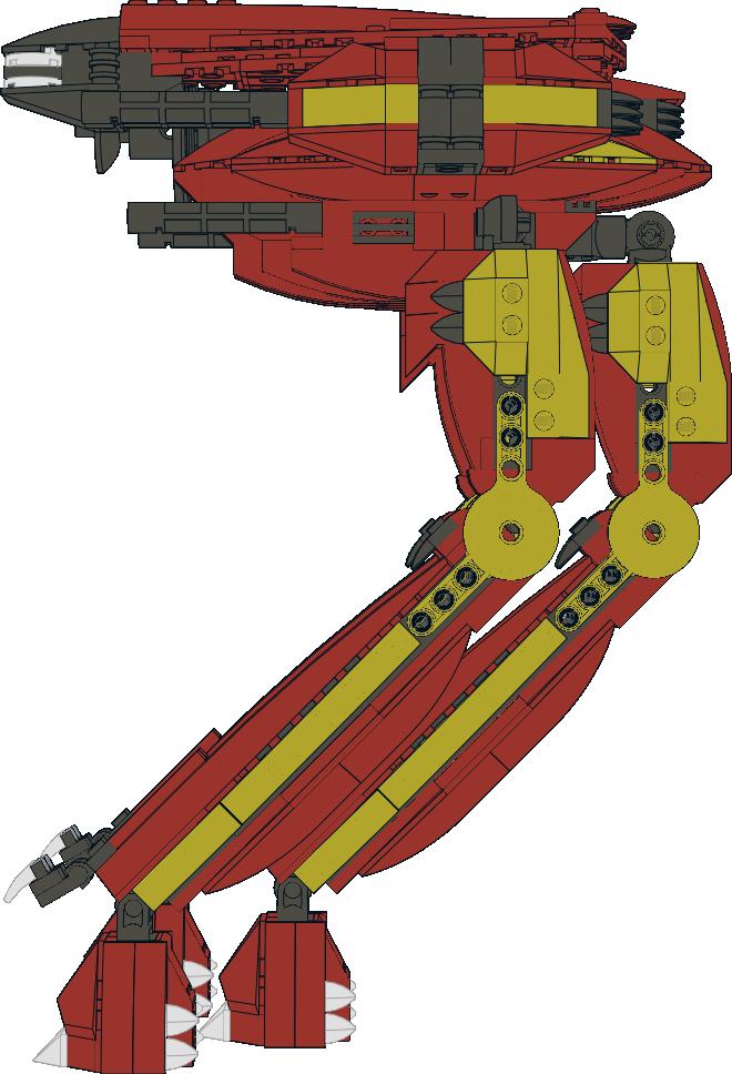Lego Mecha: Red Queen 004. by Kantorock