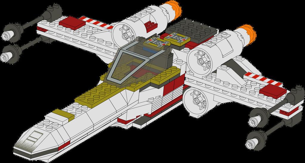 lego star wars mini x wing instructions
