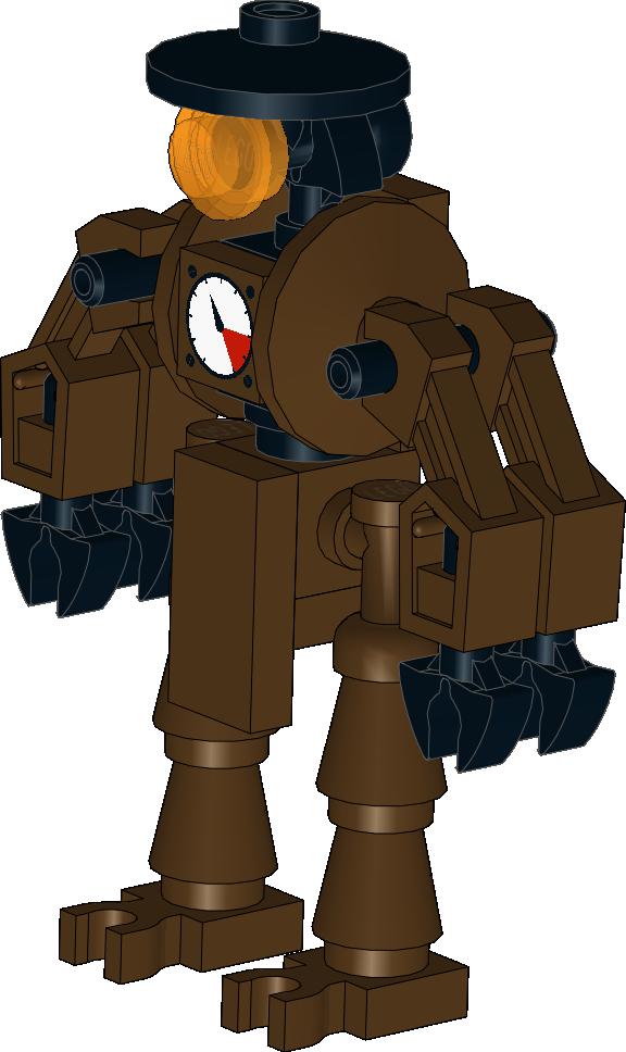 Lego Star Wars MOC: Steampunk Droid By Kantorock ...