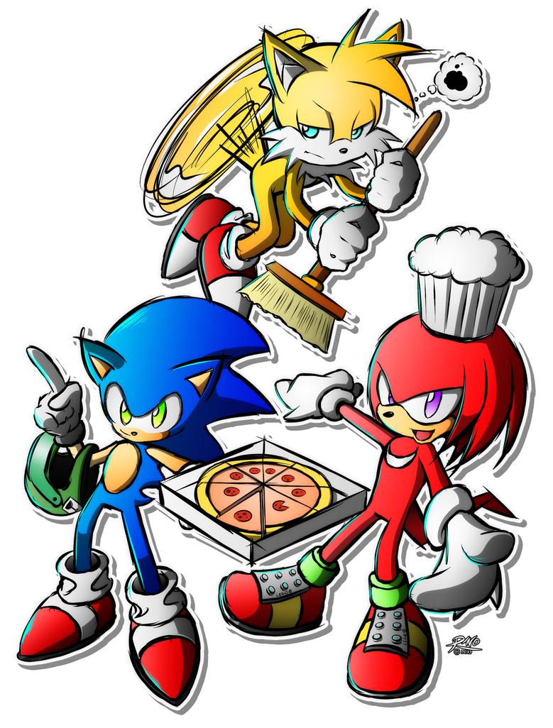 Pizza Guys by R-no71
