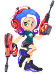 Blue Octo by R-no71