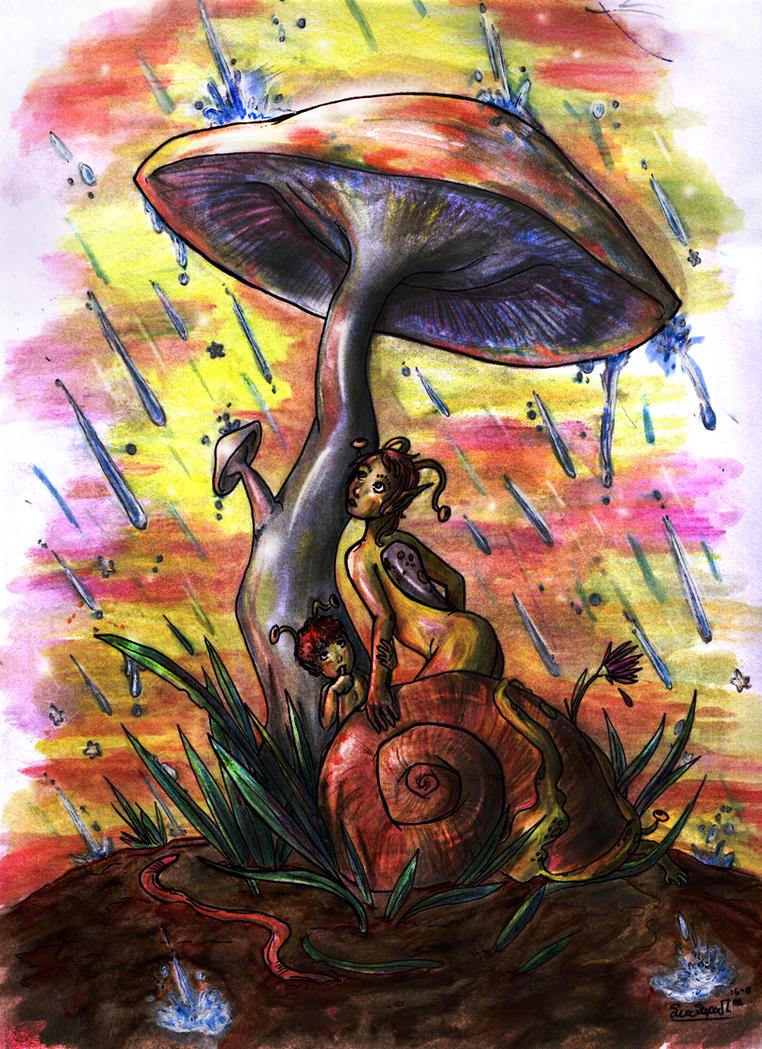 Snails by Celesime