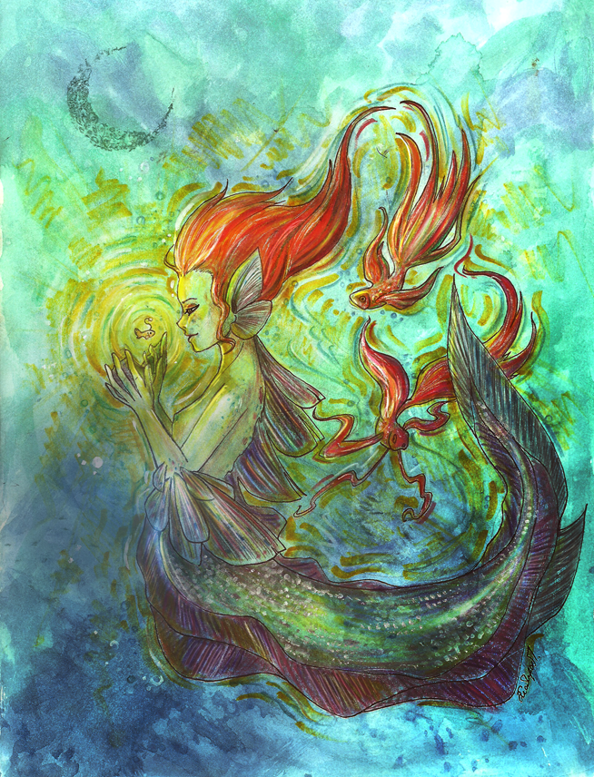 Fish Lady by Celesime