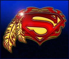 Tribal Superman by roo157