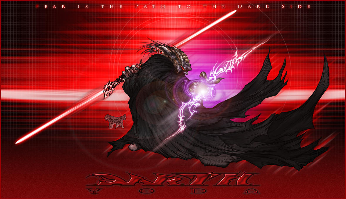 Darth Yoda by roo157