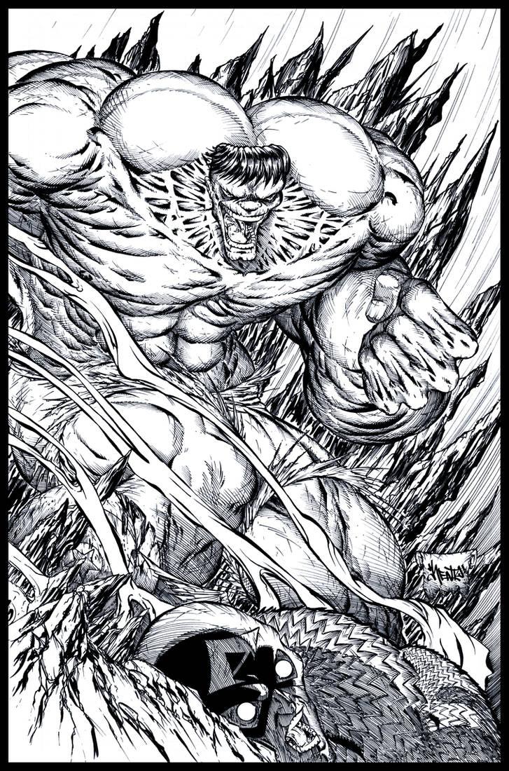 Hulk SMASH by roo157
