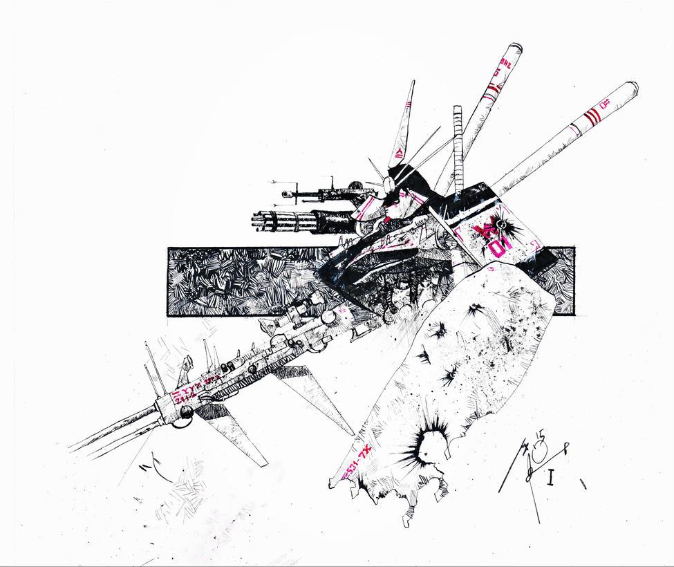 gundam by marcello-nicolella