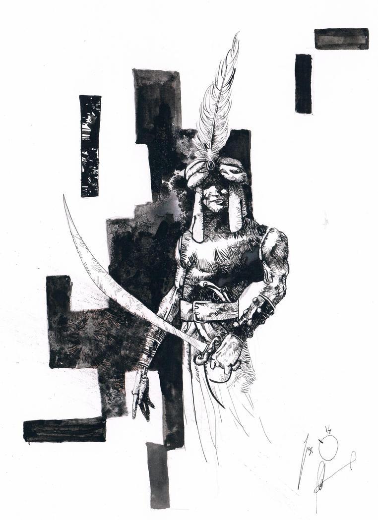Cesare Renzi a.k.a. Dago (Dago) by marcello-nicolella