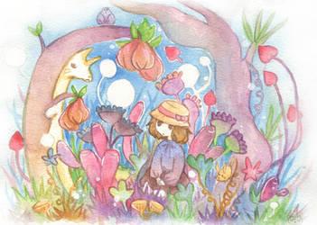 Strange Garden 2 by scilk