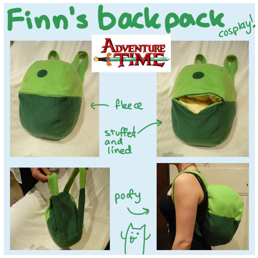 Finn Adventure Time Costume Diy